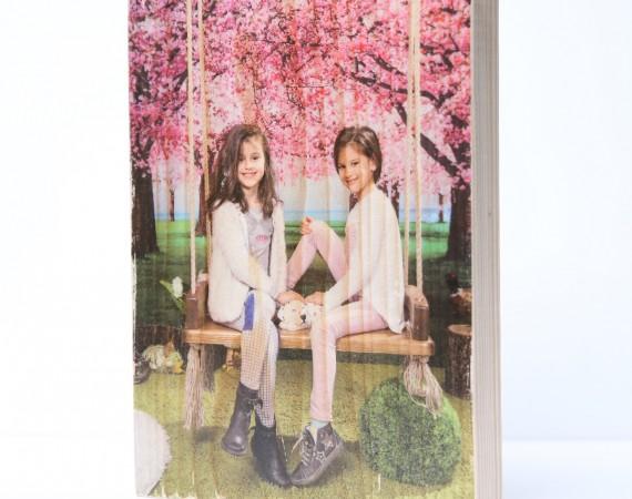 Снимка върху дърво 15x20 см